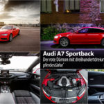 Audi A7 Sportback: Красный 333-сильный демон