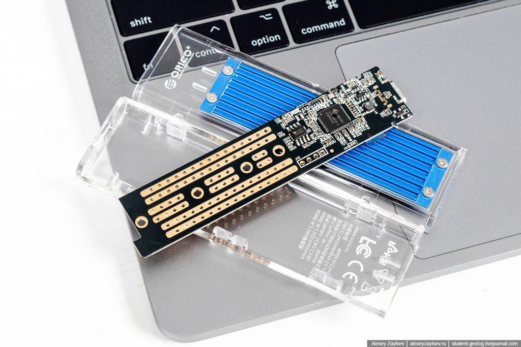 Orico tcm2-c3 внешний карман бокс для ссд ssd плата адаптера