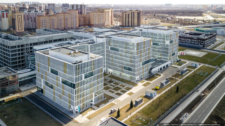 Инфекционная больница в Коммунарке коронавирус
