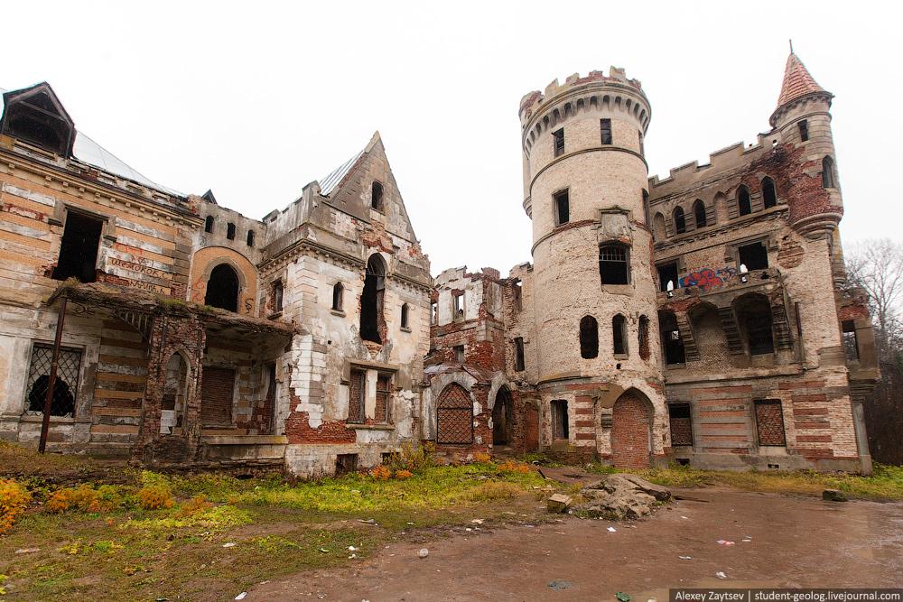 Муромцево замок графа храповицкого фото владимирская область как выглядит сейчас развалины состояние