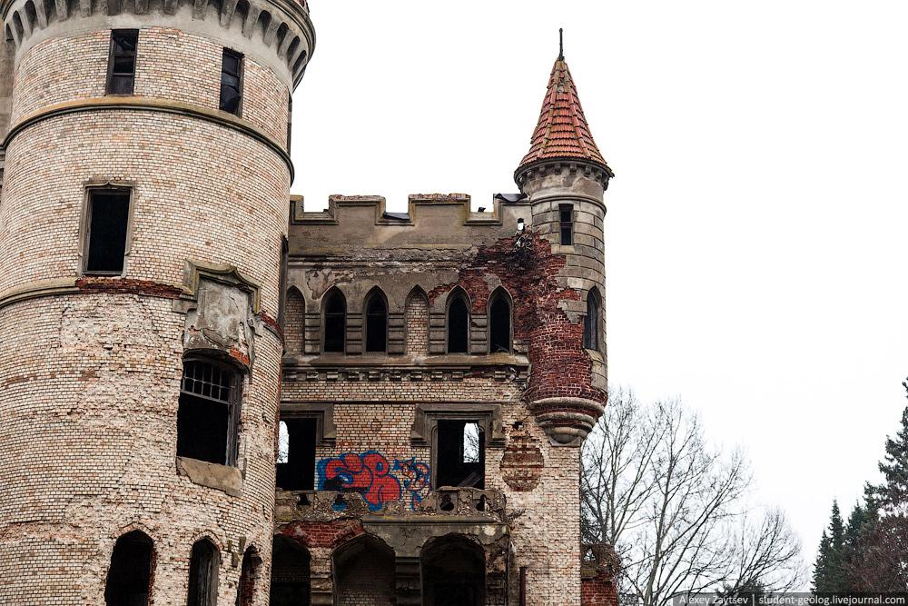 Муромцево замок графа храповицкого фото владимирская область как выглядит сейчас развалины состояние интерьер
