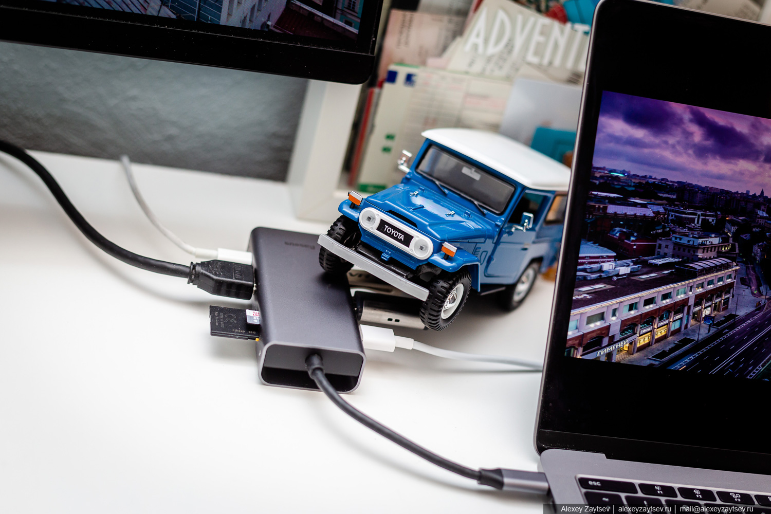 Baseus Square desk type-c multi-functional hub обзор тест хаб для макбука usb HDMI vga sd microsd