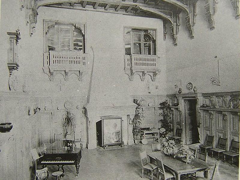 Муромцево замок графа храповицкого фото владимирская область как выглядит сейчас развалины состояние интерьер старое фото