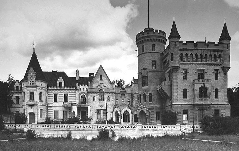 Муромцево замок графа храповицкого фото владимирская область открытка