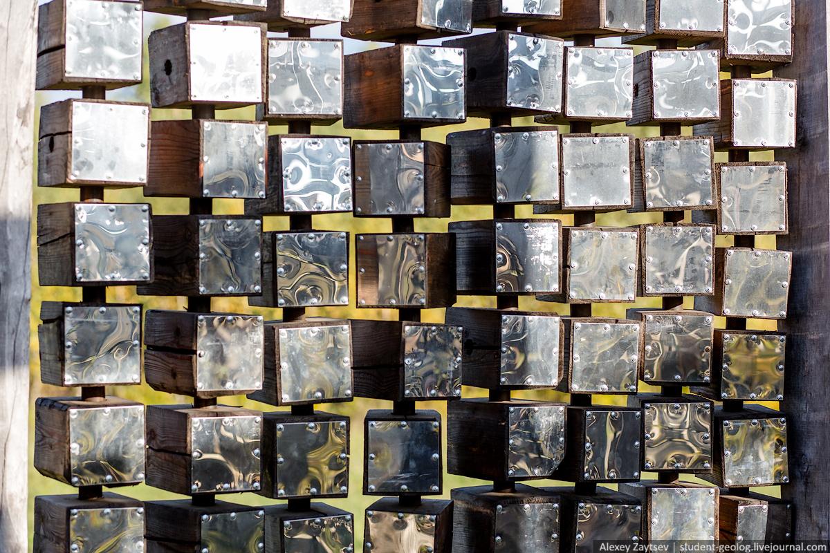 Никола ленивец фото путешествие бобур угра вселенский разум скульптура николай полисский художник  калужская область поездка достопримечательности